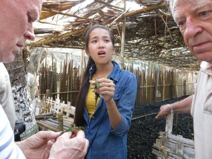 Thandar från Worldview får veta att bybornas odlingar förstörts av arroganta stadstjändemän.