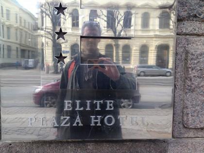 Elite Plaza med Swea Hof hör till stadens bästa hotell/krogar. Stadsjord anlitas för att bygga bättre hållbarhet.