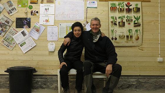 Sara och Niklas i Slakthuset