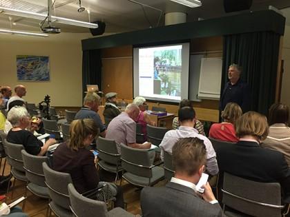 Peter Eriksson åtar sig att öppna upp EUs system för jordbruksstöd till att även inkludera stadsjordbruk